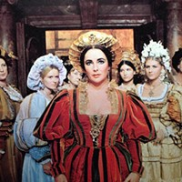 LOVELY LIZ: Elizabeth Taylor in The Taming of the Shrew