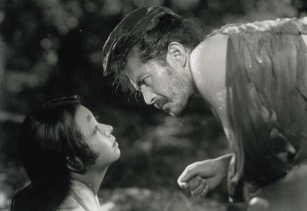 Machiko Kyo and Toshiro Mifune in Rashomon (Photo: Criterion Collection)