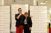 Project Runway winner Jay McCarroll plays host at Southpark Macy's