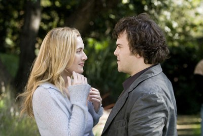 MAKE LOVE, NOT WAR: Kate Winslet and Jack Black star in the charming romantic comedy The Holiday ...