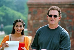 LACEY TERRELL / WARNER INDEPENDENT & SHANGRI-LA ENTERTAINMENT - MAN ON THE STREET With his assistant Maya (Sheetal Sheth) at his side, Albert Brooks goes Looking For Comedy In the Muslim World.