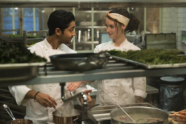Manish Dayal and Charlotte Le Bon in The Hundred-Foot Journey (Photo: Disney)
