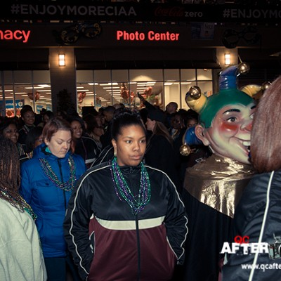 Mardi Gras Parade of Beads, 2/8/13