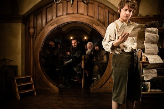 Martin Freeman (right) in The Hobbit: An Unexpected Journey (Photo: Warner Bros.)