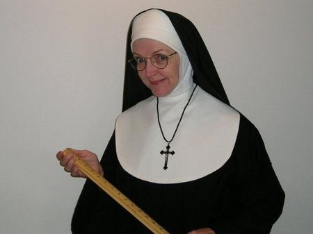 Mary Zentmeyer as Sister in Sister's Christmas Catechism