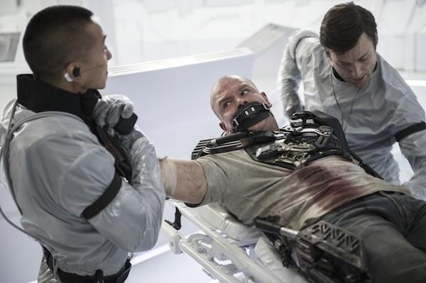 Matt Damon in Elysium (Photo: Columbia)