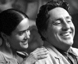 """PETER SOREL/MIRAMAX - MATTERS OF THE ART Married painters Frida Kahlo - (Salma Hayek) and Diego Rivera (Alfred Molina) share - a laugh in Frida -  - DVD DOMAIN -  - REIGN OF FIRE Eschewing the gee-whiz approach of - Dragonslayer and forsaking the downright - silliness of Dragonheart, this may well be the - most grim dragon movie ever made -- and it's all the - more effective for the filmmakers' decision to play it - straight. As a rush of pure excitement on the gritty - side, this futuristic yarn about an earth overtaken by - fire-breathing beasts delivers the goods, and it's - buoyed by arguably the best dragons ever created for - the screen. DVD extras include two - behind-the-scenes featurettes and the theatrical trailer. - Also - New:BAD COMPANY The sort of inane  drivel - that has long given """"buddy action-comedies"""" a bad - name, this one elected to team Anthony """"Give me my - damn paycheck already"""" Hopkins and Chris """"I'll be a - movie star any year now!"""" Rock in a distressingly - formulaic romp that played like a discarded Rush - Hour 3 script.  1/2 -  - THE IMPORTANCE OF BEING EARNEST In an - attempt to open up Oscar Wilde's immortal play about - mistaken identity, writer-director Oliver Parker has - made a needlessly fussy adaptation that's - nevertheless blessed with fine performances (Colin - Firth, Rupert Everett, Judi Dench) and Wilde's own - way with words.  1/2 -  - SPIRIT: STALLION OF THE CIMARRON The - cuteness quotient is remarkably low in this engaging if - not particularly distinguished tale about a magnificent - stallion that befriends a Lakota lad in the days of the - Old West. Major debit: the song score by Bryan - Adams.  1/2"""