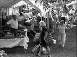 RADOK - MATTHEWS FARMERS' MARKET saw an - upsurge of interest in 2001