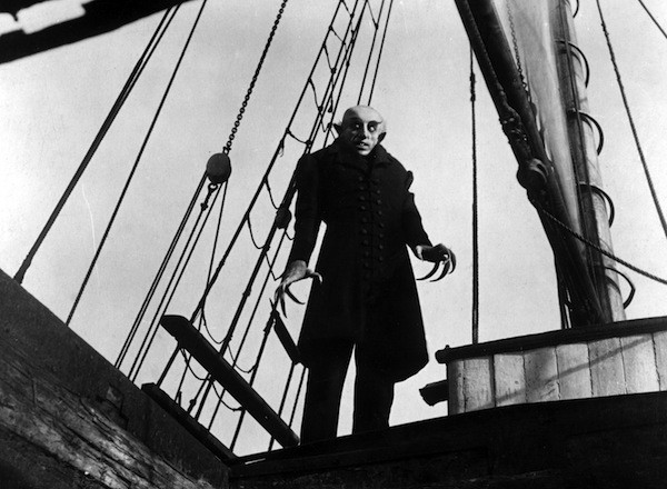 Max Schreck in Nosferatu (Photo: Kino)