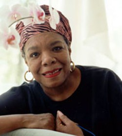PAUL KOLNIK - Maya Angelou is the guest of honor at  a leadership - luncheon on Saturday
