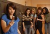 <p>MEAN GIRLS: (L to R) Chloe Aktas, Adrianna Jerez, Kristyn Callaway, Sarah Slusarick and Kali Hackett star in Children's Theatre of Charlotte's production of <i>The Secret Life of Girls</i>. </p>