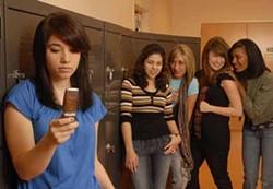 DONNA BISE - MEAN GIRLS: (L to R) Chloe Aktas, Adrianna Jerez, Kristyn Callaway, Sarah Slusarick and Kali Hackett star in Children's Theatre of Charlotte's production of The Secret Life of Girls.