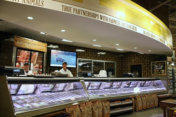 Whole Foods Market audits their meat-producing farms.