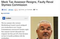 Mecklenburg County tax assessor resigns