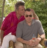 MEET THE ICONS: Dustin Hoffman and Robert De Niro in Meet the Fockers (Photo: Universal) - UNIVERSAL