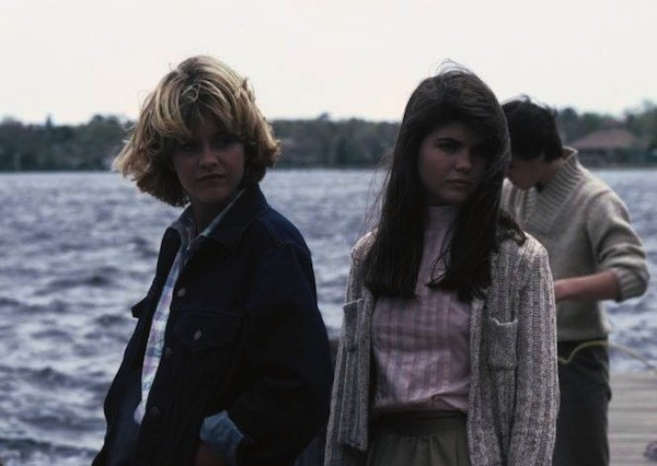 Meg Ryan and Lori Loughlin in Amityville 3-D (Photo: Shout! Factory)