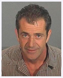 Mel Gibson - COURTESY WWW.THESMOKINGGUN.COM