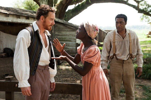 Michael Fassbender, Lupoita Nyong'o and Chiwetel Ejiofor in 12 Years a Slave. (Photo: Fox Searchlight)