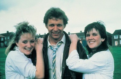 Michelle Holmes, George Costigan and Siobhan Finneran in Rita, Sue and Bob Too (Photo: Twilight Time)
