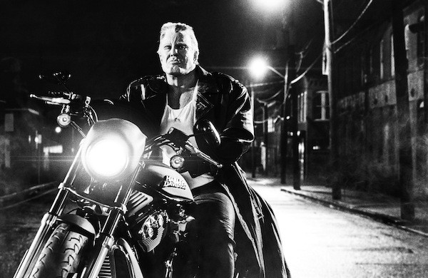 Mickey Rourke in Sin City: A Dame to Kill For (The Weinstein Company)