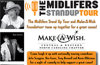 Midlifers Stand Up Tour stops by Alive tonight