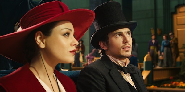 Mila Kunis and James Franco in Oz the Great and Powerful (Photo: Disney)