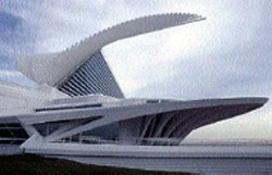 MILWAUKEE ART MUSEUM - The Santiago - Calatrava-designed Quadracci Pavilion