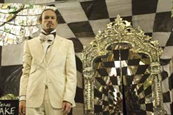 SONY PICTURES CLASSICS - MIRRORMASK: Tony (Heath Ledger) reflects on his options in The Imaginarium of Doctor Parnassus.