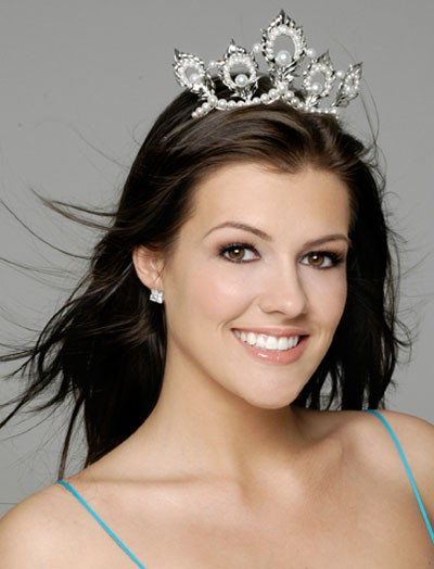 Miss USA (and shag queen) Chelsea Cooley. - COURTESY OF MISS UNIVERSE INC.