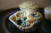 Blueberry Buckwheat Muffins