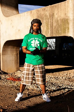 LIA JONES: NOVEMBER BLUE PHOTOGRAPHY - MULTIPLE MAN: Hip-hop artist and filmmaker Jeff Lucky