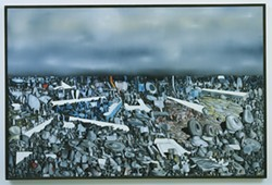 150 © 2011 ESTATE OF YVES TANGUY / ARTISTS RIGHTS SOCIETY (ARS), NEW YORK - MULTIPLICATION OF THE ARCS by Yves Tanguy (1954). (From The Museum of Modern Art, New York, Mrs. Simon Guggenheim Fund)