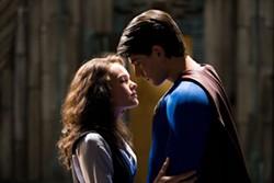 DAVID JAMES / WARNER BROS. - MY SUPER EX-BOYFRIEND Lois Lane (Kate Bosworth) and Superman (Brandon Routh) consider rekindling the flames of romance in Superman Returns