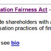 Myrick say 'no' to shareholder advisory vote for executive pay