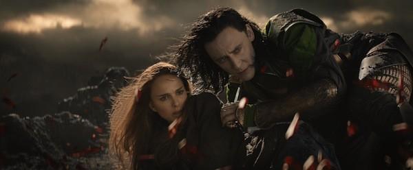 Natalie Portman and Tom Hiddleston. (Photo: Disney & Marvel)