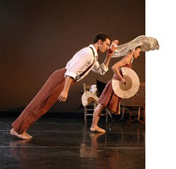 JEFF CRAVOTTA - NC Dance Theatre's Innovative Works runs Wed., Nov. 9, through Sat. Nov. 12