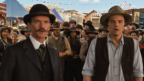 Neil Patrick Harris and Seth MacFarlane in A Million Ways to Die in the West (Photo: Universal)