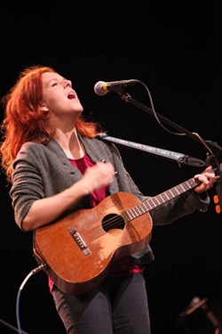 JEFF HAHNE - NEKO'S KNIGHT: Gregg McCraw brought Neko Case to a sold-out crowd at Knight Theater