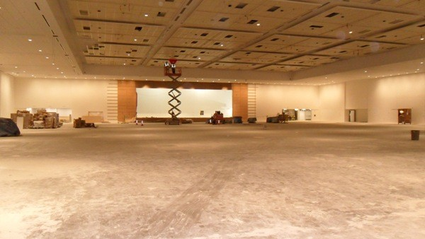 new ballroom in NASCAR