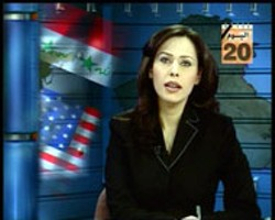 MAGNOLIA PICTURES - NEWS TO US An Al-Jazeera anchorwoman offers a - different perspective in Control Room