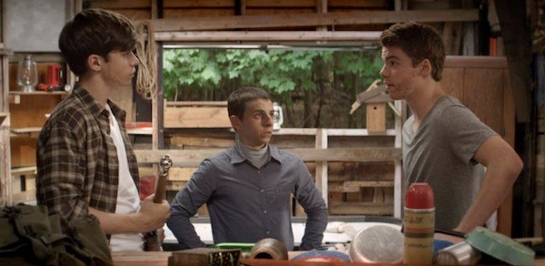 Nick Robinson, Moises Arias and Gabriel Basso in The Kings of Summer