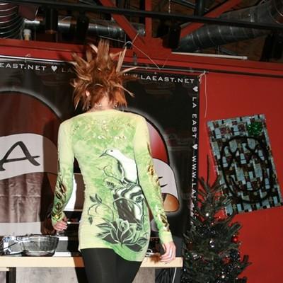 Apostrophe Lounge fashion show