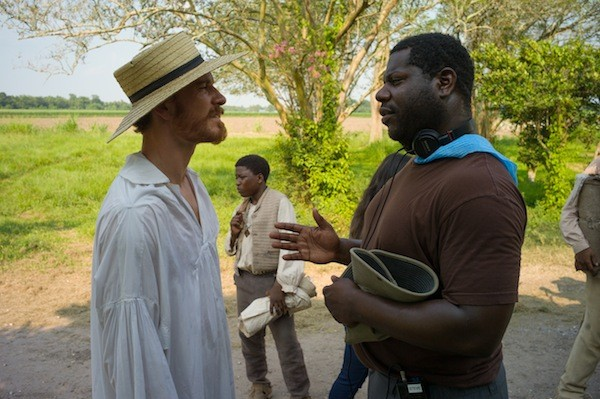 NINE NOMINATIONS A MOVIE: Supporting actor Michael Fassbender and director-producer Steve McQueen are both Oscar-nominated for their work on 12 Years a Slave, one of the top contenders in this year's race. (Photo: Fox Searchlight)