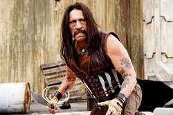 JOAQUIN AVELLAN / FOX - NO MORE MR. NICE GUY: Danny Trejo as Machete.