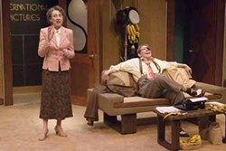 NO TEARS: Mary Lucy Bivins and Rick McVey in Don't Cry for Me, Margaret Mitchell at Barter Theatre in Abingdon, Va., through Aug. 16.