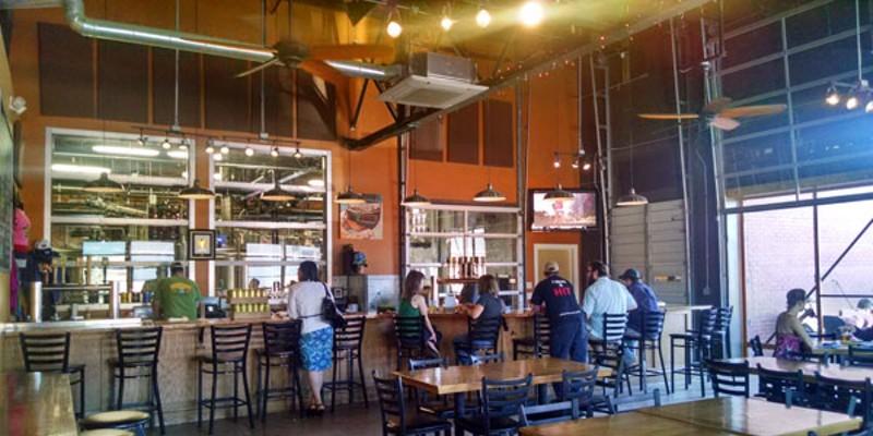 NoDa Brewing offers a beautiful day in the neighborhood