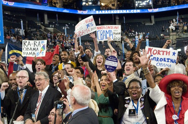 North Carolina Roll Call for Nomination of President of the United States at the 2012 Democratic National Convention.