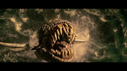 PARAMOUNT & SHANGRI-LA - NOT SIGMUND: A sea monster is one of the many horrors on display in Beowulf.
