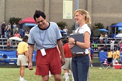 FOX SEARCHLIGHT - NOT SO SPECIAL Steve (Johnny Knoxville, with Katherine Heigl) pretends to be mentally challenged so he can participate in the Special Olympics in The Ringer.