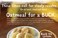 Oatmeal at Jamba Juice